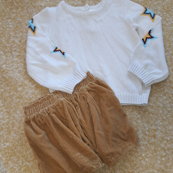 Gymboree girls skirt and sweater
